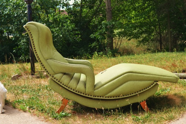 Green Chaise Lounge Chairs