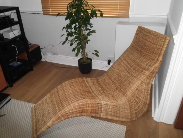 Karlskrona Chaise Lounge Rattan