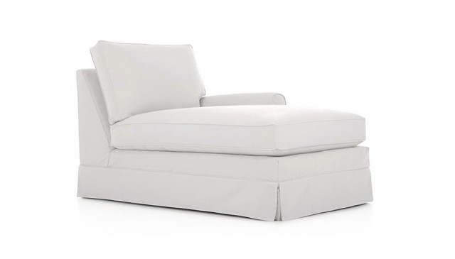 Left Arm Chaise Slipcover