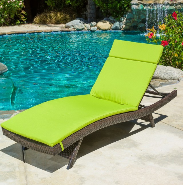Lime Green Chaise Lounge