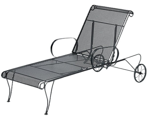 Metal Chaise Lounge Patio Furniture