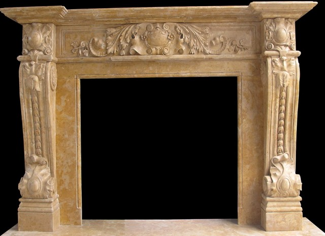 Old Fireplace Mantels For Sale