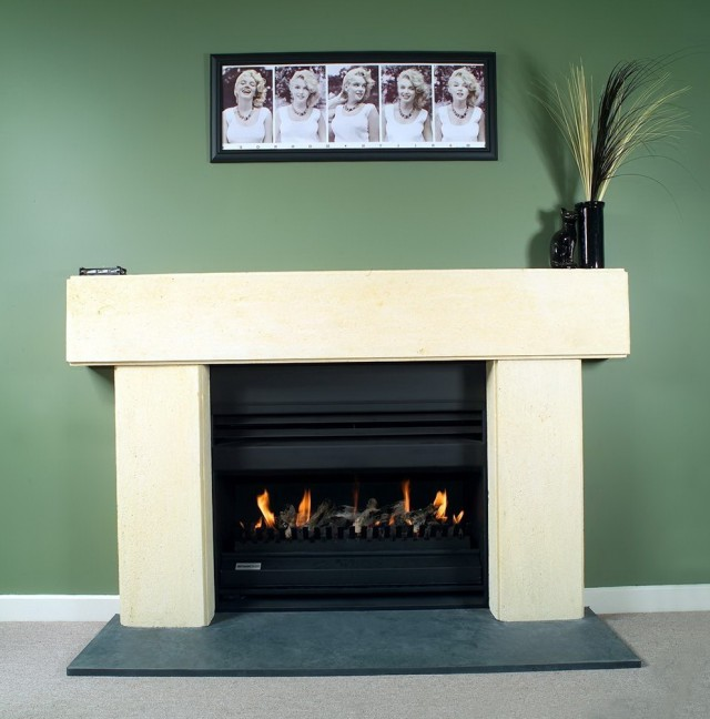 Open Gas Fireplace Melbourne