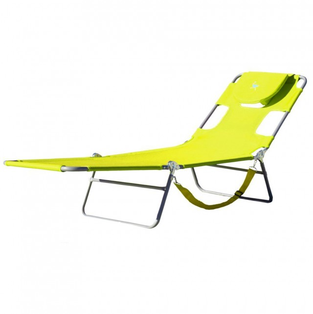 Ostrich Chaise Lounge Green