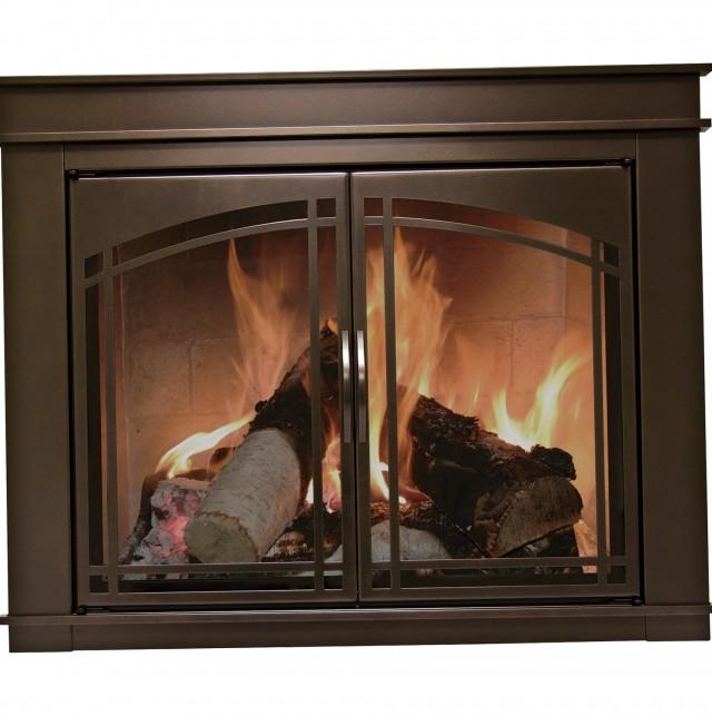 Pleasant Hearth Fireplace Doors Fenwick