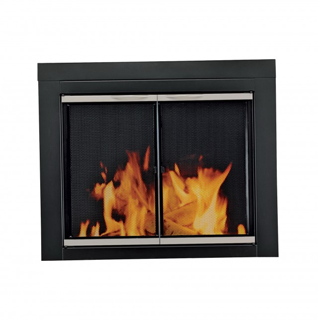 Pleasant Hearth Fireplace Doors Installation