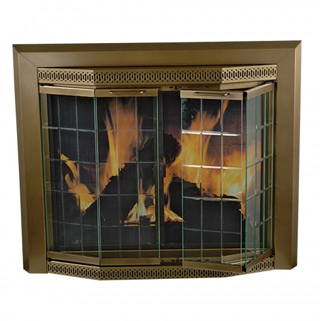 Pleasant Hearth Fireplace Doors Sizing