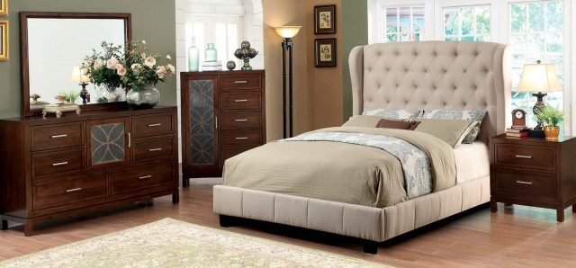 Quilted Headboard Bedroom Sets