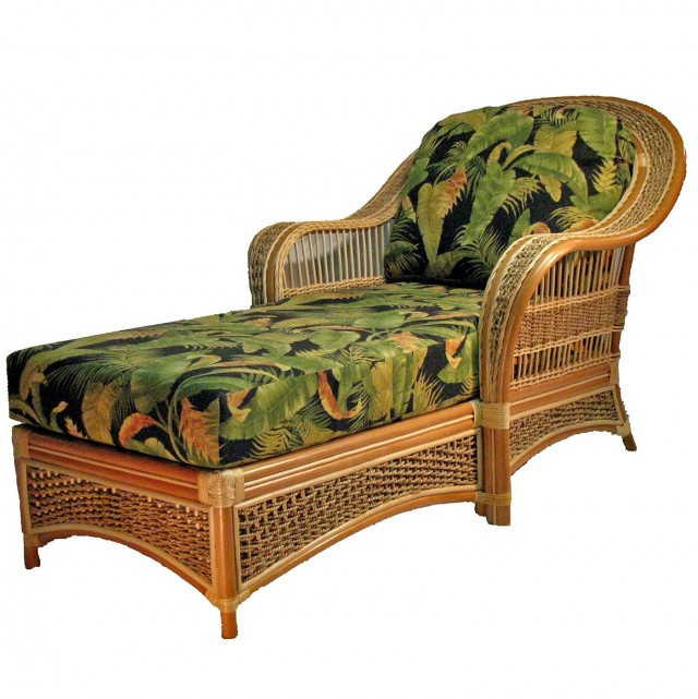 Rattan Chaise Lounge 2 Pack Brown