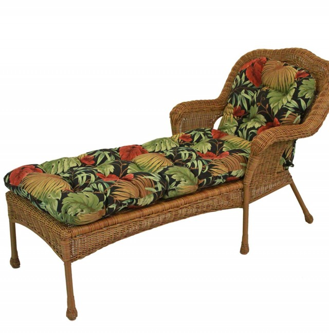 Round Chaise Lounge Replacement Cushions