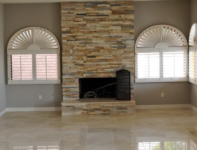 Stone Tiles For Fireplace