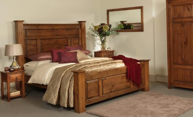 Tall Wooden Headboard Beds
