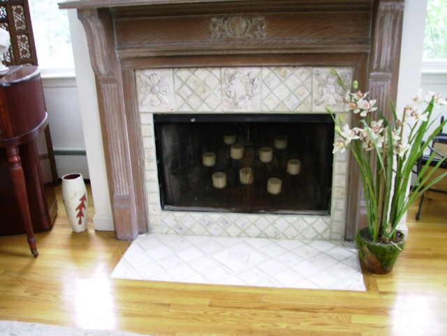 Tiles For Fireplace Insert