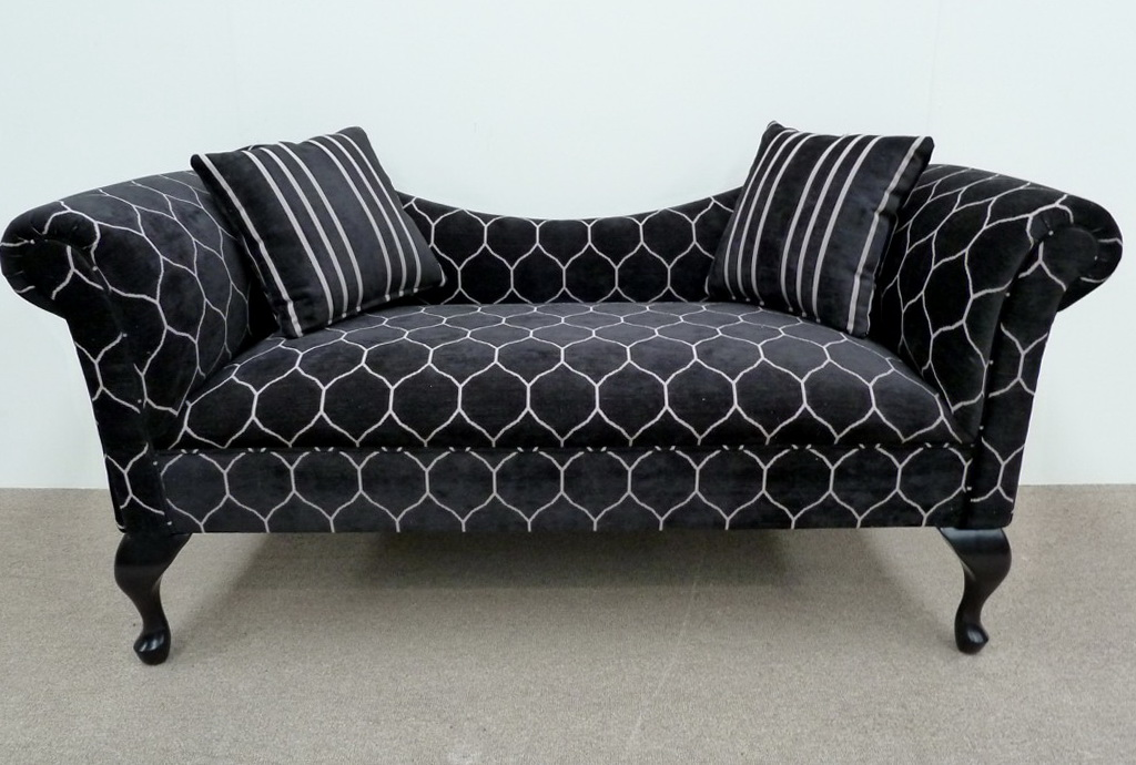 Upholstered Double Chaise Lounge