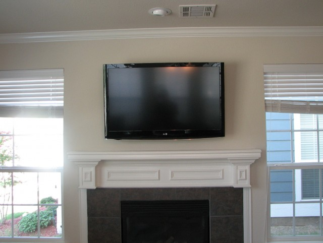 Wall Mounted Tv Fireplace