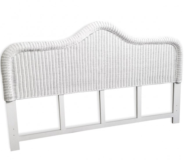 White Wicker Headboard Target