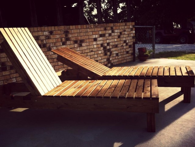 Wooden Chaise Lounge Plans Free