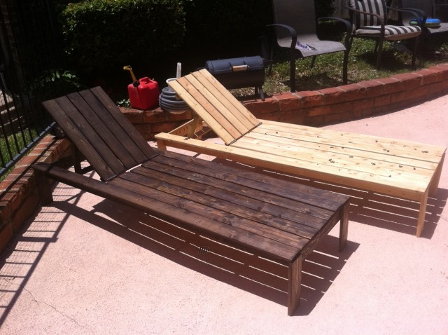 Wooden Chaise Lounges Sale