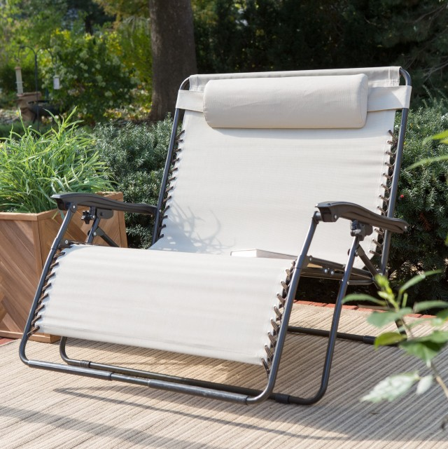Zero Gravity Chaise Lounge Outdoor