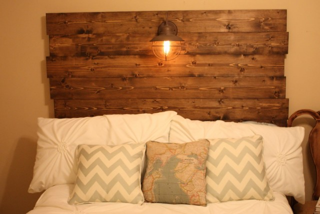 Barn Wood Headboard Diy