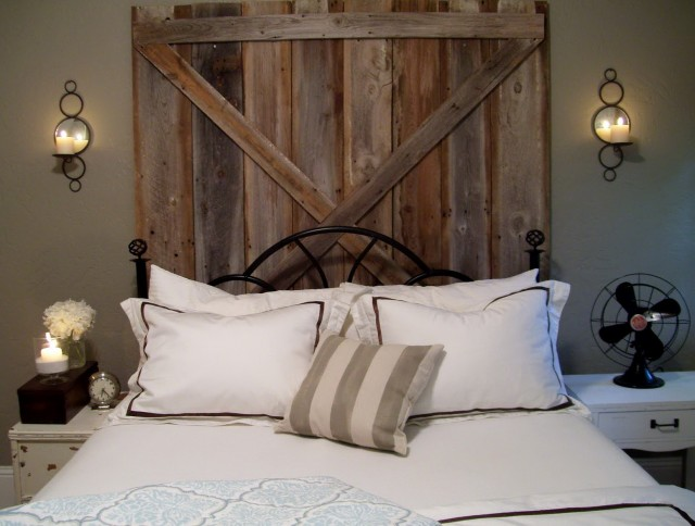 Barn Wood Headboard Plans