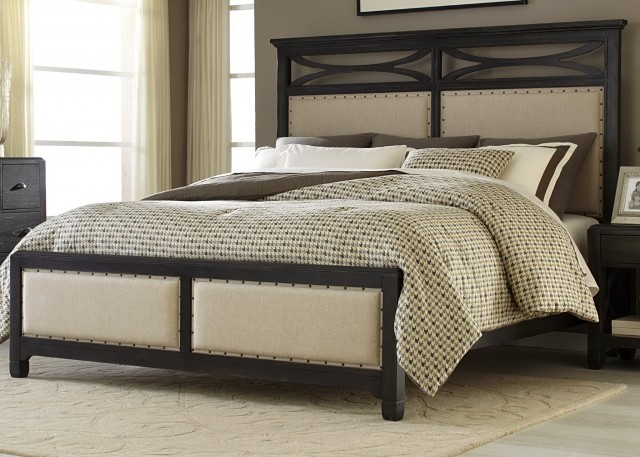 Bed Frames With Cushioned Headboard