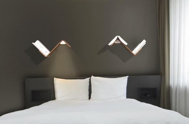 Bed Reading Light Headboard