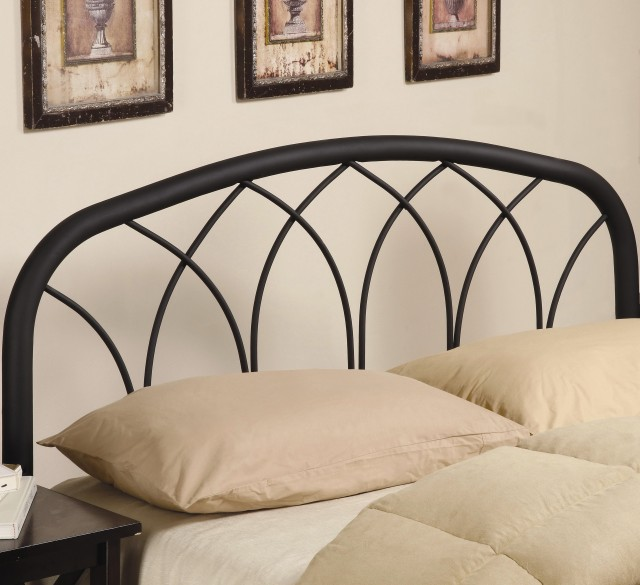Black Iron Headboard Full