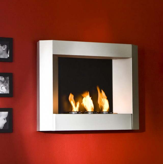 Contemporary Wall Mounted Fireplaces
