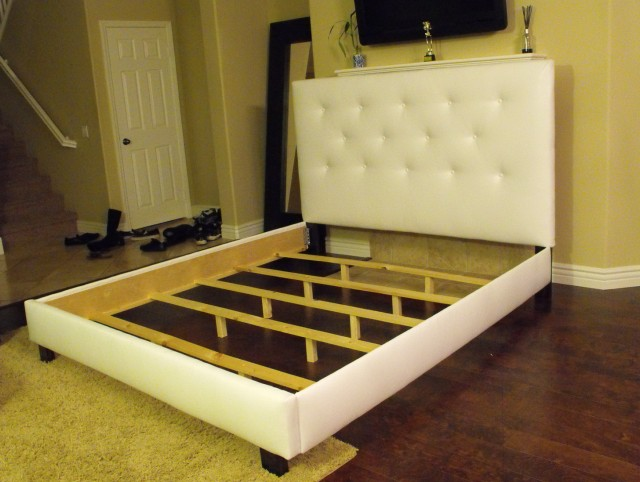Full Bed Frames With Headboard