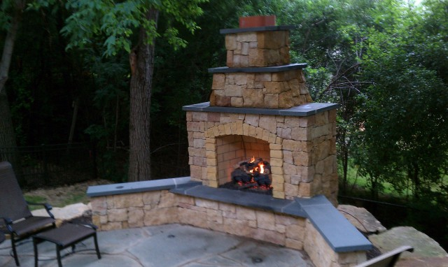 Gas Fireplace Chimney Caps