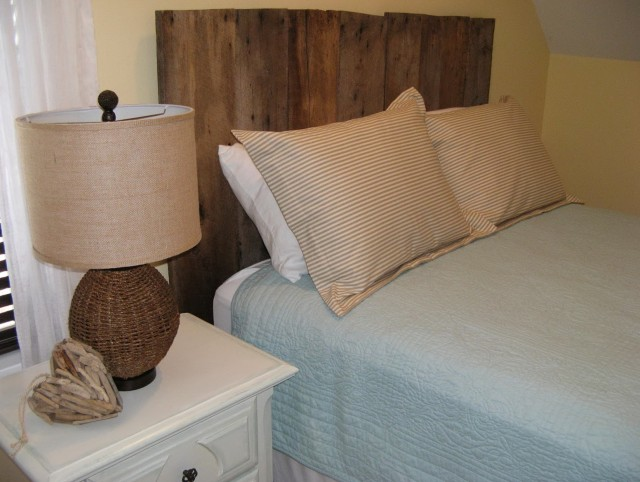 Headboard Made From Barn Wood