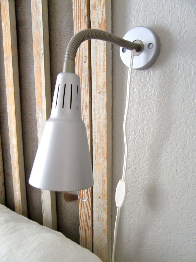 Headboard Reading Lamp Ikea
