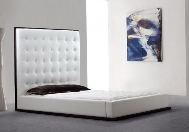 High Wood Headboard Beds