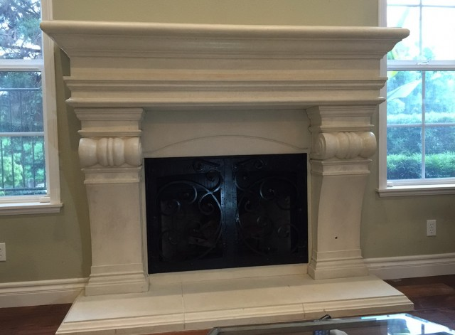 Home Depot Fireplace Mantel Shelves