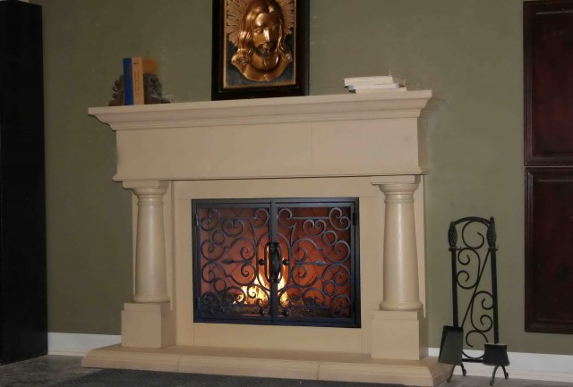 Home Depot Fireplace Mantel Surround