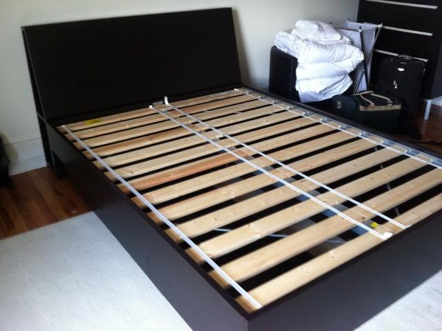 Ikea Bed Frame Storage Headboard