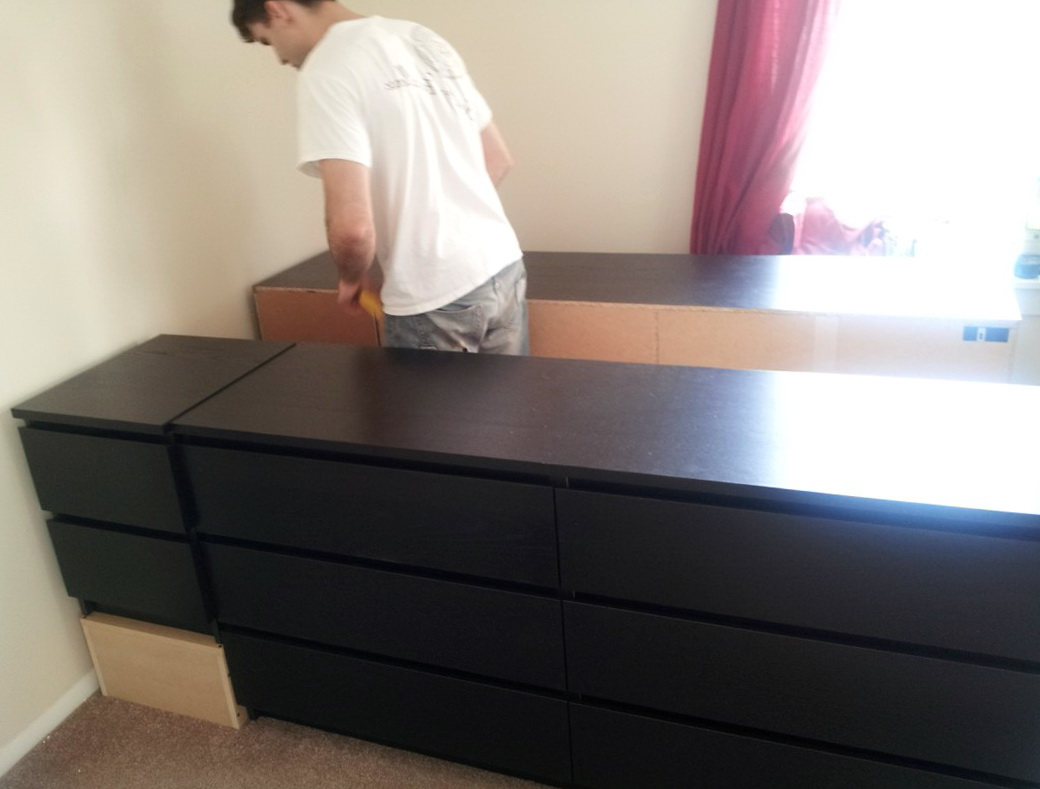Ikea Malm Bed With Headboard Storage