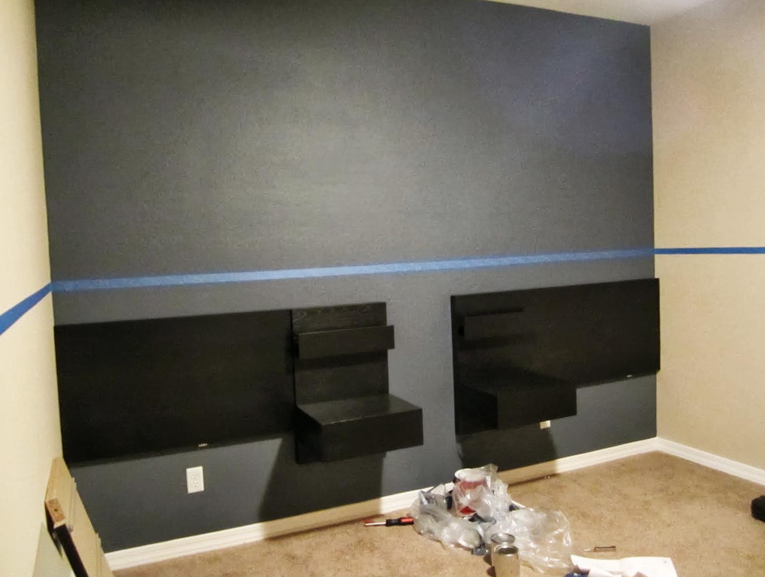 Ikea Malm Headboard Pull Out Bed Shelf