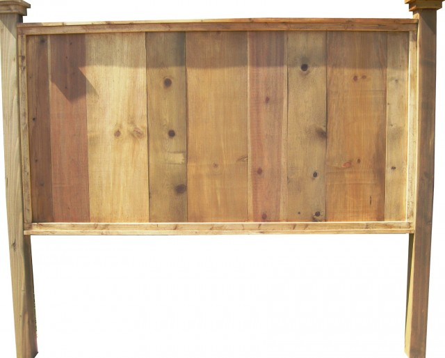 King Size Barn Wood Headboard