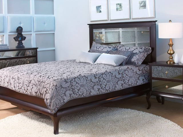King Size Headboard With Mirror