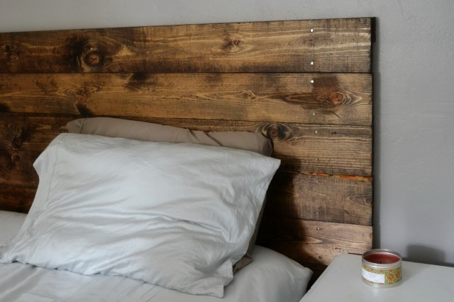 Make Your Own Wood Headboard