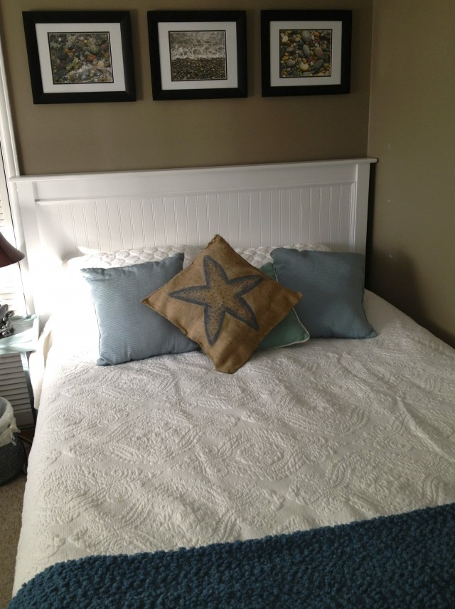 Mission Style Headboard Makeover