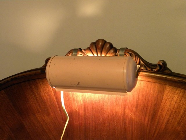 Over The Headboard Reading Lamp