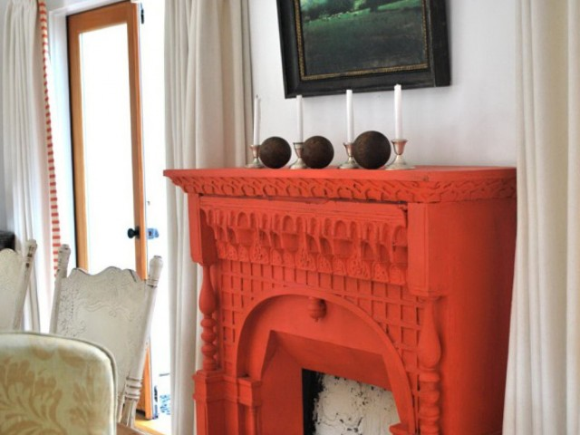 Painted Fireplace Mantels Ideas