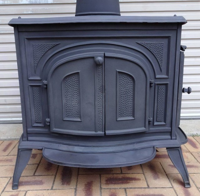 Pot Belly Electric Stove Fireplace