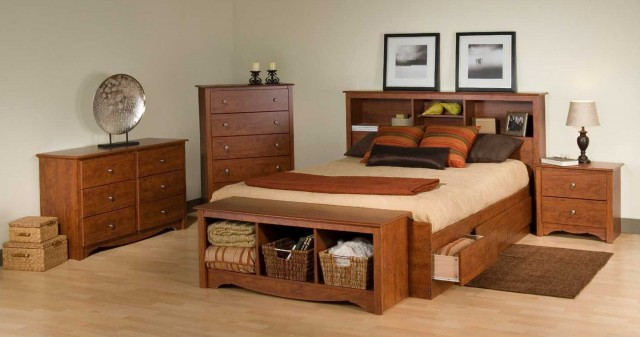 Queen Bed Headboards With Storage