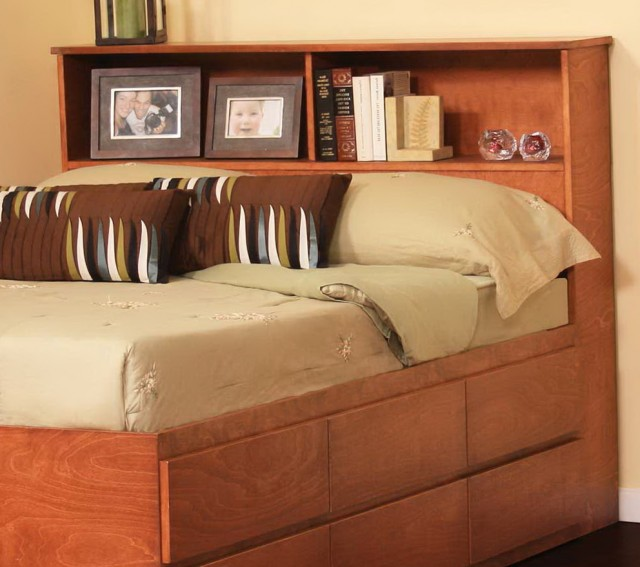 Queen Size Bookcase Headboard Plans