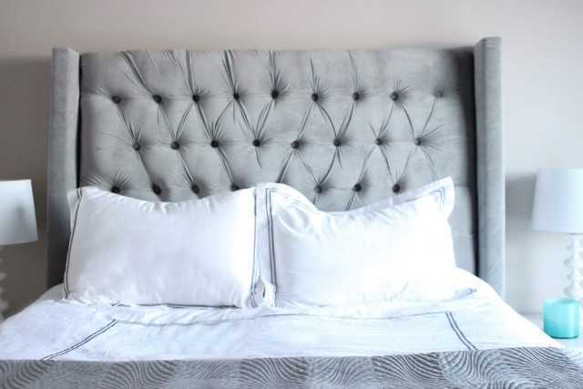 Queen Size Tufted Headboard Diy