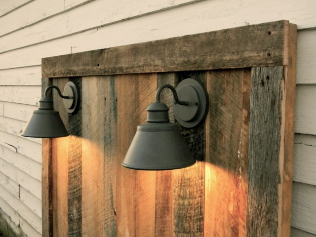 Rustic Headboards With Lights